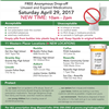 Rx TakeBack April 2017 Flyer
