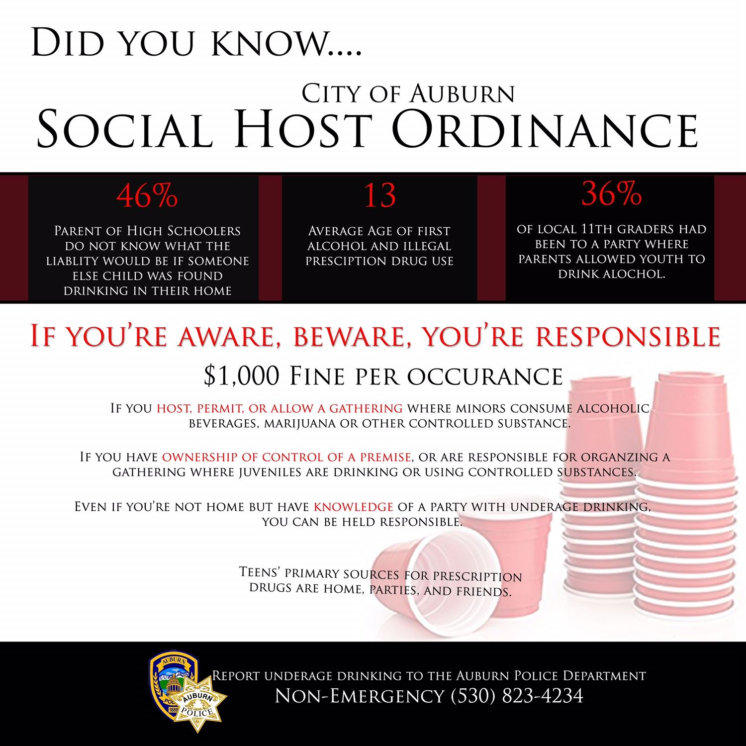 Social Host Ordinance
