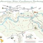 American River Confluence Parkway Auburn State Recreation Area Map